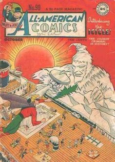 All-American Comics #90...first appearance of the Icicle!