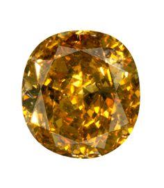 0.85 Carat Fancy Deep Brownish Orangy Yellow Oval Diamond
