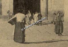 Viterbo in Cartolina - Piazza Verdi (o del Teatro) e dintorni 1912