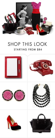 """""""The Vintage Working Woman"""" by classic511 ❤ liked on Polyvore featuring Asprey, Chanel, Black Halo, Wild & Wolf, Kimberly McDonald, Kate Spade, Charlotte Olympia, Alexander Wang and vintage"""