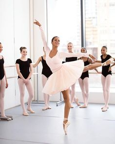 Misty Copeland, principal dancer for the American Ballet Theatre, sits down with Estée Stories to discuss breaking down barriers, unwavering commitment and pre-performance rituals. Misty Copeland, Black Dancers, Ballet Dancers, Ballet Art, Shall We Dance, Just Dance, Tumblr Ballet, La Bayadere, Black Ballerina