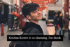 Image result for kristian kostov snapchat