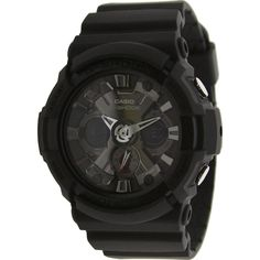 Casio G-Shock X-Large Combi Watch with Metal Accent in black