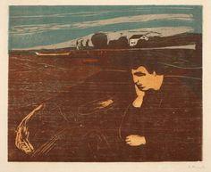 Edvard Munch artwork: Melancholie III #EdvardMunch #EdvardMunchart #EdvardMunchartwork #EdvardMunchprints