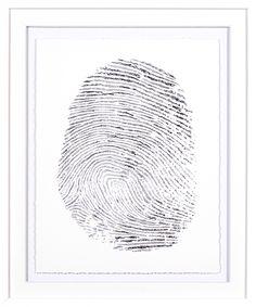 Silver Finger Print III