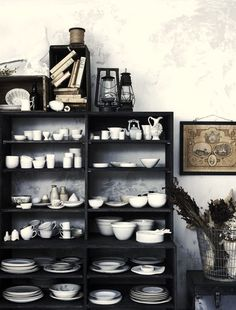 I have always dreamed of white dishes... These ones to be exact, http://www.williams-sonoma.com/products/pillivuyt-queen-anne-porcelain-dinnerware-place-setting/?pkey=ctbldnwset%7Ctbldnwsetwhi