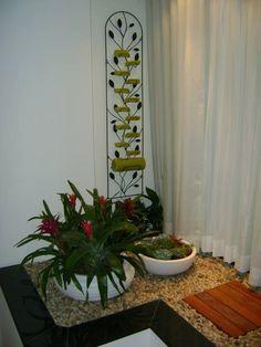 Jardins de Inverno Tropical por MC3 Arquitetura . Paisagismo . Interiores