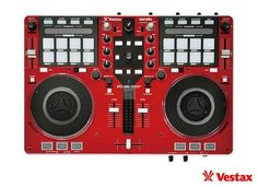 The Vestax VCI-380 by Vestax is a 2 channel DJ controller with a built-in Digital DJ mixer, powerful and creative, Recordcase.de is more favorable! opening the door to limitless possibilities of controllerism. Mix, scratch, cue, effect, sample, trigger, loop and slice. More Info / Available here: http://www.recordcase.de/en/Vestax+MIDI+Controller+VCI-380+red.htm?pid=Google-Ehlen