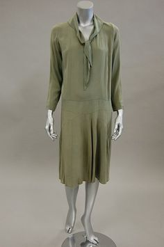 Dress - Coco Chanel, ca.1927 - via Kerry Taylor Auctions