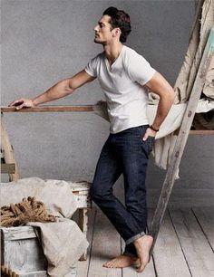 @Daisy Duck Brand - Spring/Summer 2013 / Model: David Gandy