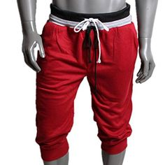 AIMTOPPY Womens Sport Sweat Pants Dance Baggy Jogging Training Trousers (XL, Red) $5.00  Material:Cotton Blended;Gender: Women  Fit Type:Straight Waist Type:High  Pant Style:Loose Pattern Type:Solid  Click on AIMTOPPY brand name above title for more GREAT styles!  Please check the size information under the Product Description before ordering