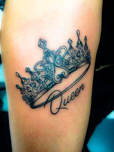 Crown me tattoos locket tattoos, tattoo designs и tiara tatt Mommy Tattoos, Mother Tattoos, Dope Tattoos, Badass Tattoos, Pretty Tattoos, Beautiful Tattoos, New Tattoos, Body Art Tattoos, Hand Tattoos