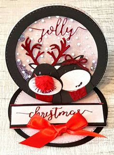 Created by Jo McKelvey using the Cute #Christmas collection by Sara Davies! #crafterscompanion
