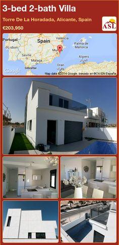 3-bed 2-bath Villa in Torre De La Horadada, Alicante, Spain ►€203,950 #PropertyForSaleInSpain