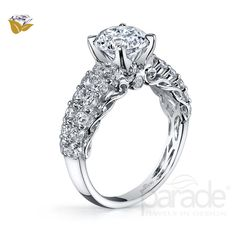 0b4181bab Parade Design -Bridal- R3115/R1. Vintage Inspired Engagement RingsDesigner  Engagement RingsDiamond BandsNatural DiamondsColored ...