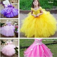 Cheap girls princess, Buy Quality dress kids directly from China princess tutu Suppliers: Little Girls Princess Tutu Dress Kids Crochet Tulle Tail Dress Ball Gown with Flower Headband Children Bell Wedding Party Dress Ball Dresses, Ball Gowns, Fabric Tutu, Princess Flower Girl Dresses, Kids Gown, Wedding Party Dresses, Tulle, Baby Dress, Jeans