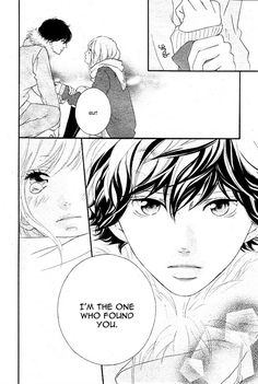 Ao Haru Ride 41, so... Kou im still angry at you but... you win this time
