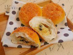 椰香奶酥麵包(水合法+低溫發酵)