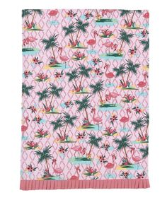 Take a look at this Flamingos Kitchen Towel - Set of Two today!