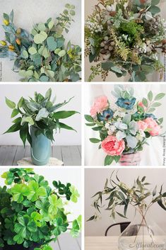 Faux greenery is perfect for standing alone in a vase or adding as accents in your wedding bouquet