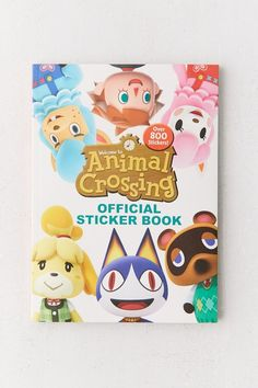 Animal Crossing Official Sticker Book By Courtney Carbone Animal Books, Color Activities, Custom Tees, Design Your Home, Birthday Wishlist, Brighten Your Day, Animal Crossing, Party Games, Sliders
