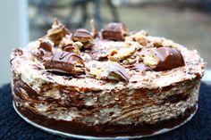 Kinder Bueno Cheesecake uit het Guilty Pleasures Kookboek - Francesca Kookt