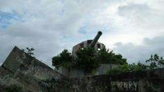 Tarawa Japanese gun