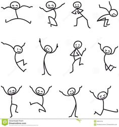 Terrific Stick Man Stick Determine Glad Leaping Celebrating – Obtain Extra Than Million Excessive High quality inventory photograph & pictures, Vectors, Vectors. Art Drawings For Kids, Doodle Drawings, Drawing For Kids, Doodle Art, Easy Drawings, Pencil Drawings, Drawing Techniques, Drawing Tips, Drawing Ideas