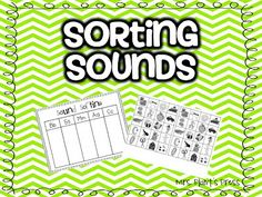 Sorting Sounds {Freebie}