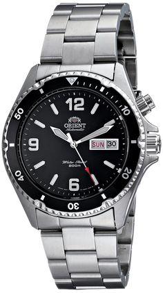 "For me, this is the perfect daily beater! Orient Herren CEM65001B ""Black Mako"" Automatic Dive Uhr: Amazon.de: Uhren"