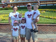 20 DIY Disney Shirts (Not Another Round-up!), family matching shirts