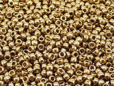MATUBO Czech Glass Seed Beads 7/0 3.5mm 10 gr by ScaraBeads
