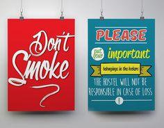 Cartelería/Posters para Hostelima