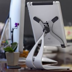 Thought Out Company - Stabile PRO iPad Stand. Great to organize your desk & office or use in the kitchen.