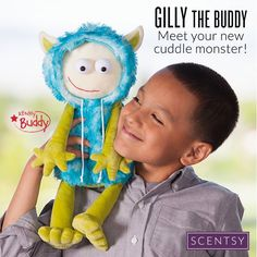 Meet Gilly, the newest #Scentsy buddy.  He's limited edition so order yours now at enjoysmartscents.com #Gifts