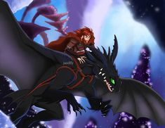 Hiccup riding on Toothless the Night Fury dragon Dragons Edge, Httyd Dragons, Dreamworks Dragons, Disney And Dreamworks, Dragon 2, Dragon Rider, Night Fury Dragon, Hiccup And Toothless, Beautiful Dragon