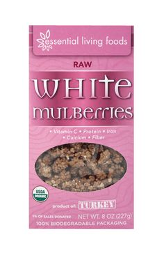 YUMMMYY Mulberries!!! :) Great Snacker!  http://essentiallivingfoods.com/products/white-mulberries-organic-raw-16oz