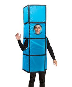 Another great find on #zulily! Blue Tetris Tetrimino Dress-Up Outfit - Adult #zulilyfinds