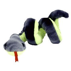 TY Beanie Baby - HISSY the Snake (3.5 inch)(25 inch stretched)