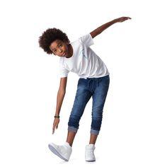 Calça Malha Jeans Infantil com Elastano - Johnny Fox - Cia Infantil - ciainfantil.com.br