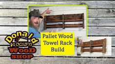 That's right! Yet another pallet wood project. This time I made a towel rack. I hope you enjoy the build. I also introduce you a new buddy of mine. A cat showed up a few days ago and seems to have adopted me. #palletwood #pallet #wood #woodworking #project #build