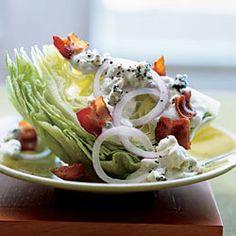 Feast of Favorites Epicurious menu - mini lobster rolls, braised short ribs, ice berg lettuce wedge, cream puffs