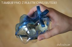 tamburyno z recyklindu diy Tambourine, Plastic Bottles, Shoe Box, Projects To Try, Homemade, Diy, How To Make, Musical Instruments, Google