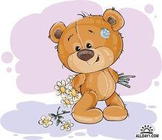 Vector Bears Collection #10 - 25 Ai Мишки