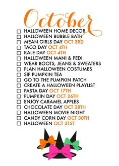 18 Reasons To Celebrate October! If we don't make an effort to treasure each day, life has a way of passing us by too quickly.  Seasonal living is a way to help