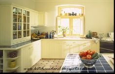 Nice Sunny Look to this Kitchen