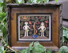 Adam+&+Eve+Revisited+Pattern+by+kathybarrick+on+Etsy,+$9.00