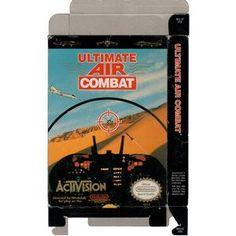 Ultimate Air Combat - Empty NES Box