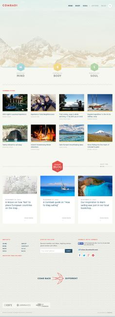 Combadi | Innovative holiday & travel experience ideas that help you learn, grow and change