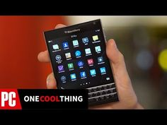 Hands On With The BlackBerry Passport - One Cool Thing - YouTube